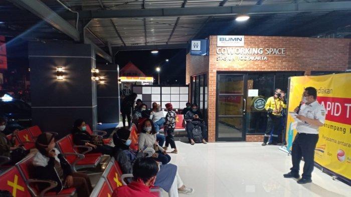 PT KAI Daop 6 Yogyakarta Akan Tambah Lokasi Rapid Test Antigen di Stasiun Lempuyangan