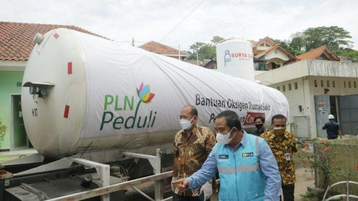 PLN Kembali Salurkan 11,9 Ton Oksigen Guna Tangani Lonjakan Kasus Covid-19