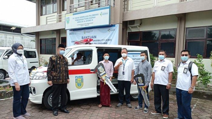PT. Pupuk Sriwidjaja (Pusri) Palembang Serahkan 2 Unit Ambulans untuk Masyarakat DIY dan Jawa Tengah