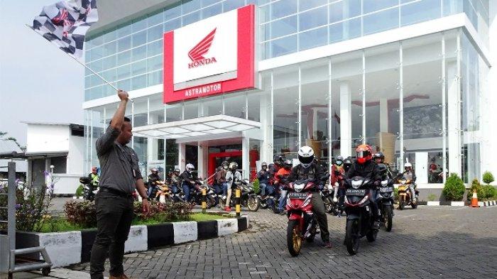 Puluhan Pecinta Honda Supra GTR 150 Jelajahi Kota Menuju Kalibiru