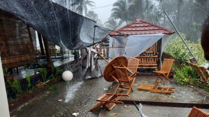 Puluhan Rumah di MagelangRusak Akibat Diterjang Hujan Deras yang Disertai Angin Kencang