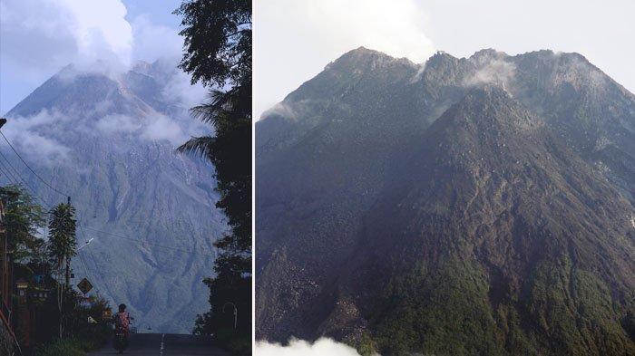 Puncak Gunung Merapi Alami Pemekaran Sebesar 4 Meter, Magma Mendekat ke Permukaan
