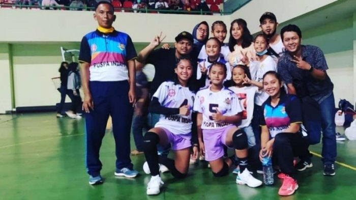 Puspa Indah Juarai Turnamen Bola Voli KU-14 Pengkab PBVSI Sleman 2020, Tumbangkan MVC di Final