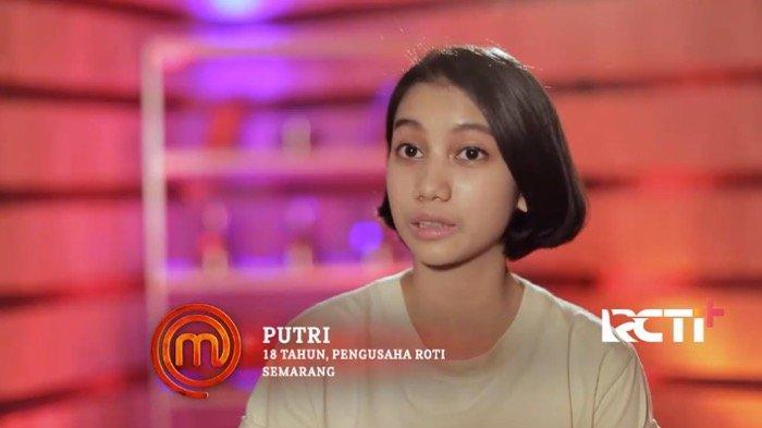 FAKTA-FAKTA Putri Uti Kontestan MasterChef Indonesia Season 8, Jago Masak Sejak Usia 13 Tahun
