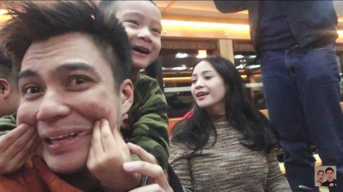Reaksi Lucu Rafathar Anak Raffi Ahmad, Lihat Wajah Bayi Baim Wong, Si 'Musuh Bebuyutannya'