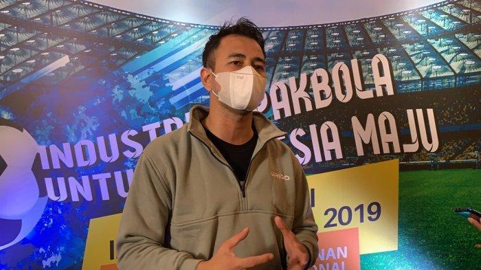 Komitmen Raffi Ahmad Majukan Sepak Bola Nasional, Sport dan Entertainment Harus Berkolaborasi