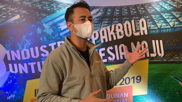 Komitmen Majukan Sepak Bola Nasional, Raffi Ahmad: Sport dan Entertainment Harus Berkolaborasi
