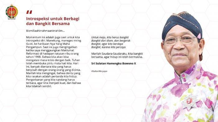 Sri Sultan Hamengku Buwono X: Vaksinasi Covid di Yogyakarta Tuntas Akhir Tahun