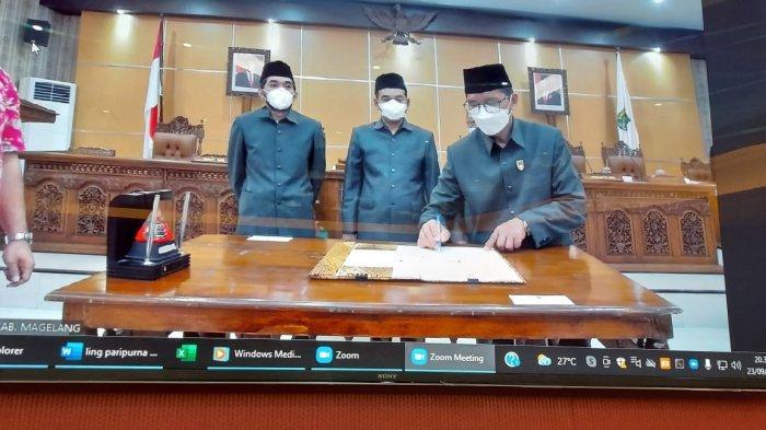 DPRD Kabupaten Magelang Sepakat Sisa Pendapatan Rp8 Miliar untuk Penanganan Covid-19