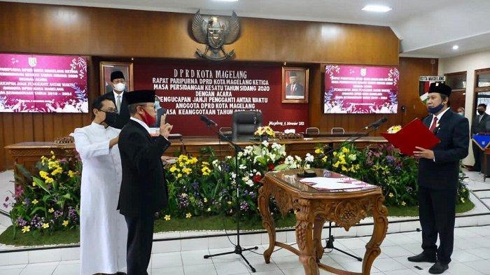 Maju Pilkada 2020, Anggota DPRD Kota Magelang Aji Setyawan Digantikan FX. Sugianto