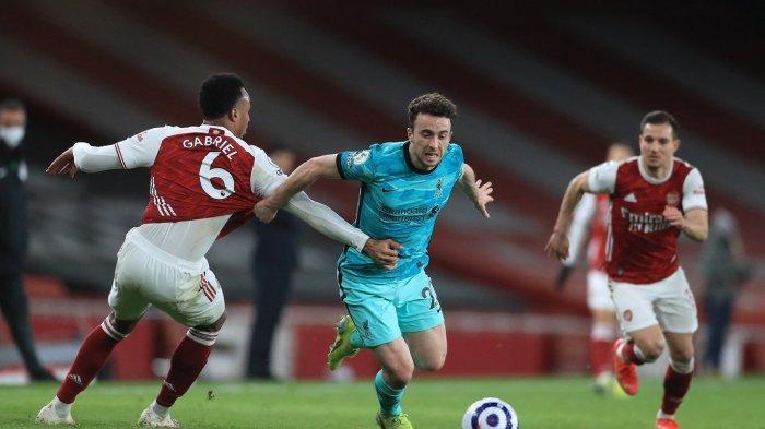 Rating Pemain Arsenal vs Liverpool yang Berakhir dengan Skor 0-3