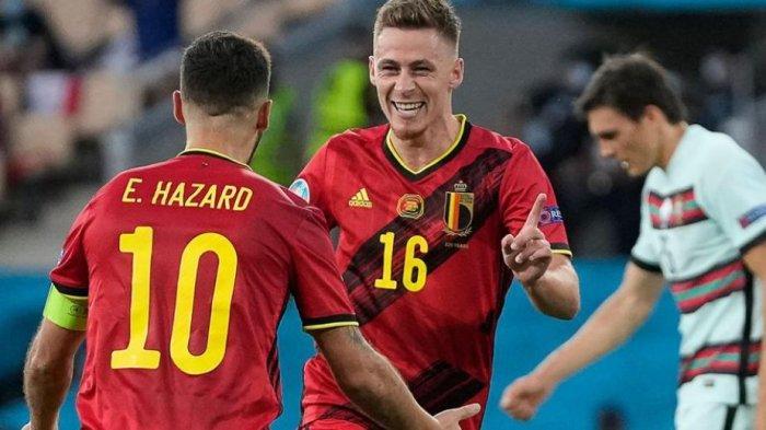 RATING Pemain BELGIA dan CEKO yang Lolos ke Perempat Final Ketemu Italia dan Denmark