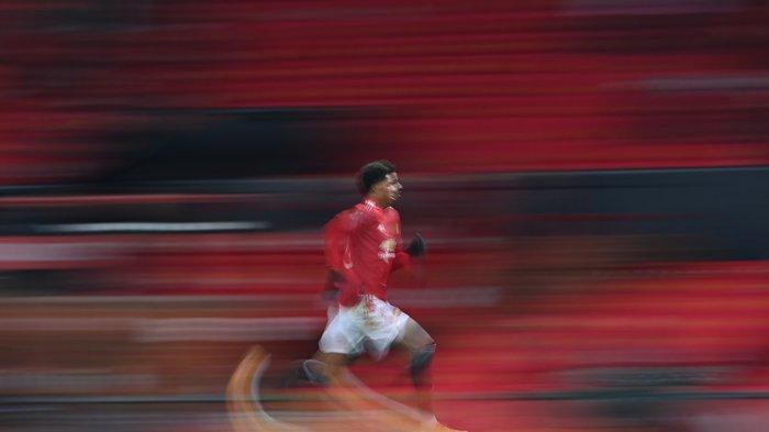 Penyerang Manchester United Marcus Rashford