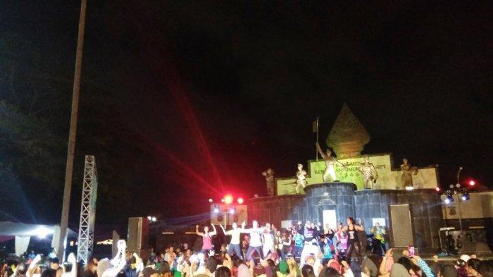 Ratusan Pecinta Zumba Meriahkan Ngayogyakarta Zumba Festival 2019