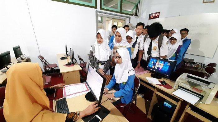 Ratusan Siswa di Kota Magelang Berbondong-bondong Ikuti Uji Coba PPDB