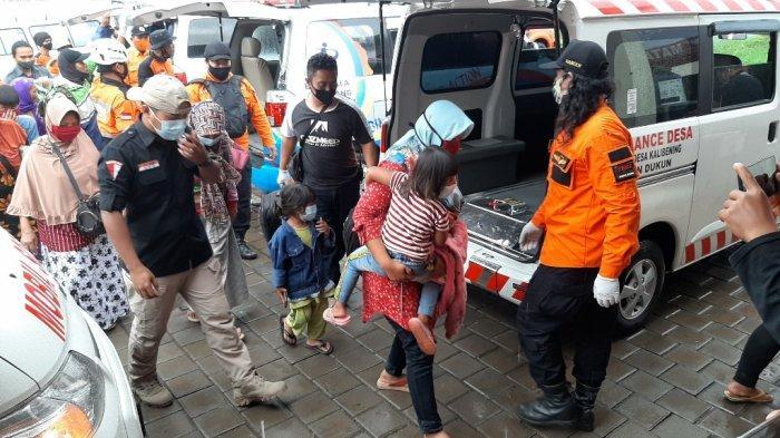 Pengungsi Gunung Merapi di Kabupaten Magelang Capai 500 Jiwa