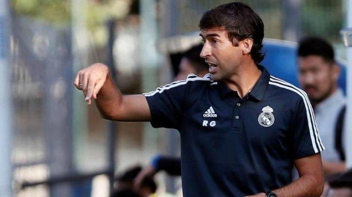Raul Gonzales, pelatih Castilla atau Real Madrid B disebut menjadi kandidat utama pengganti Zinedine Zidane