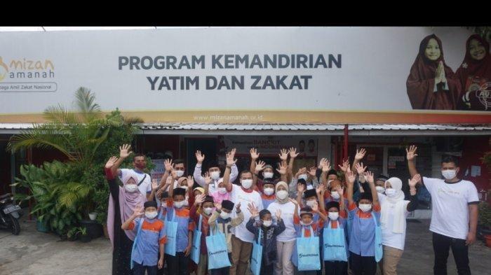 Rayakan Ulang Tahun ke-5, UNISI Hotel Gelar Baksos di Mizan Amanah Panti Asuhan Yatim & Dhuafa