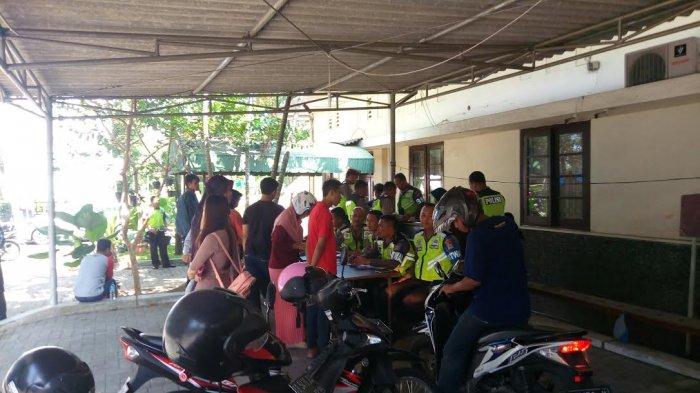 Puluhan Pengendara Motor Kena Tilang Operasi Patuh Progo di Jl Kusumanegara