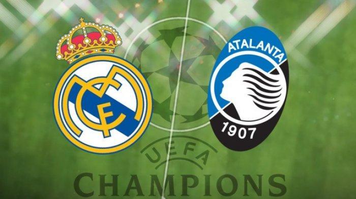 Real Madrid vs Atalanta, Liga Champions