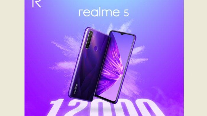 Realme 5 Terjual 12.000 Unit di Flash Sale Perdana