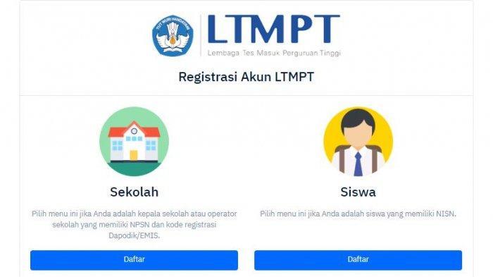 Login Akun Ltmpt Sebelum Pendaftaran Snmptn 2020 Mulai 2 Desember 2019 Sampai 7 Januari 2020 Tribun Jogja