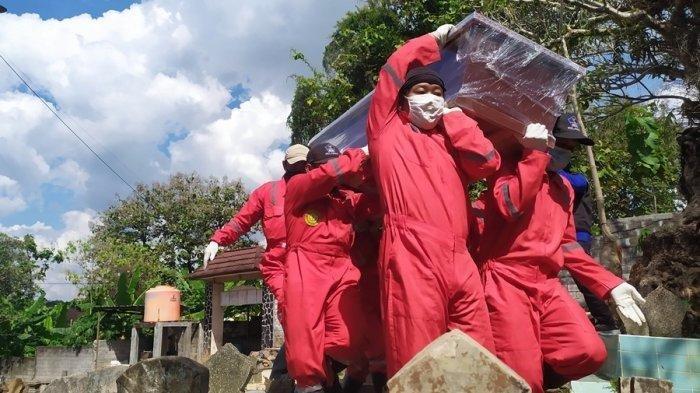 Simak Cerita Relawan Pemakaman Jenazah Covid-19 di Semarang Menahan Lelah Demi Tugas Mulia