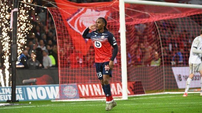 Gelandang LOSC Lille asal Portugal, Renato Sanches yang dikaitkan dengan kepindahan ke Liverpool.