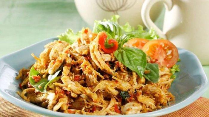 RESEP Ayam Suwir Pedas, Sajian Sederhana untuk Sahur