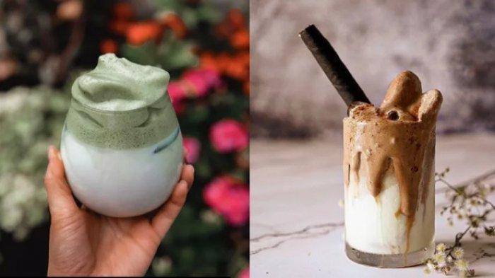 Resep Membuat Dalgona Cofee Dan Matcha Minuman Yang Nikmat Dan Viral Di Tiktok Tribun Jogja