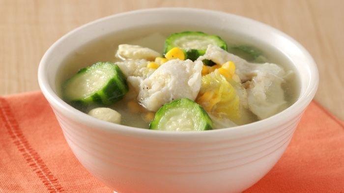 Sup Telur Jagung