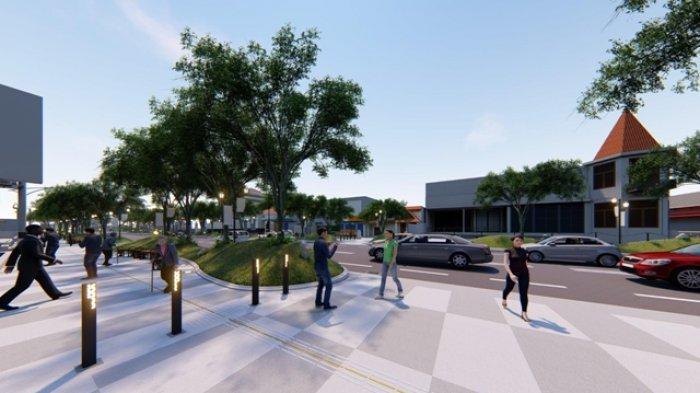 Proses Revitalisasi Pedestrian Sudirman Lebih Cepat 11 Persen