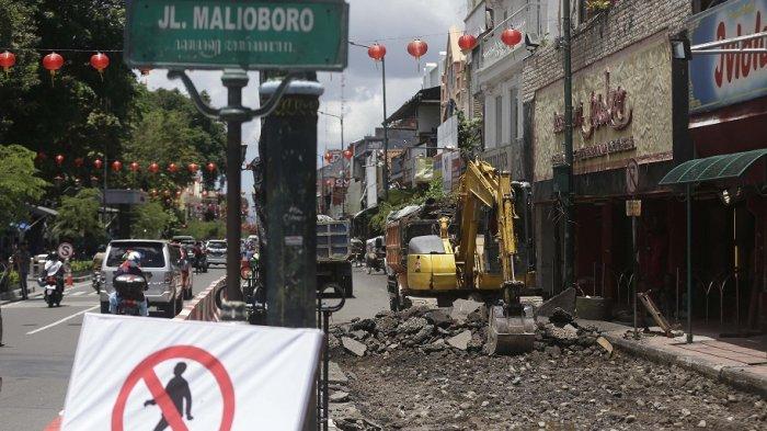 Pedestrian Sisi Barat Malioboro Dipugar, Penarik Andong dan Tukang Becak Bergeser Tempat Mangkal