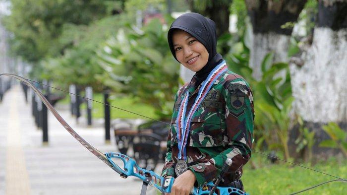 Kisah Tentara Wanita Cantik Jago Memanah, Pernah Dikirim Ke Wuhan Berlaga di Olimpiade Militer