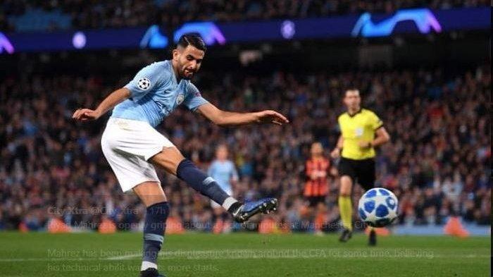 Pemain Manchester City, Riyad Mahrez