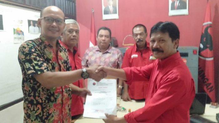 Maju Bakal Cabup Sleman, Riyanto Resmi Daftar Lewat PDIP