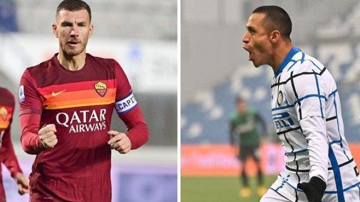 LIGA ITALIA: Inter Milan dan Roma Sepakati Pertukaran Alexis Sanchez & Edin Dzeko?