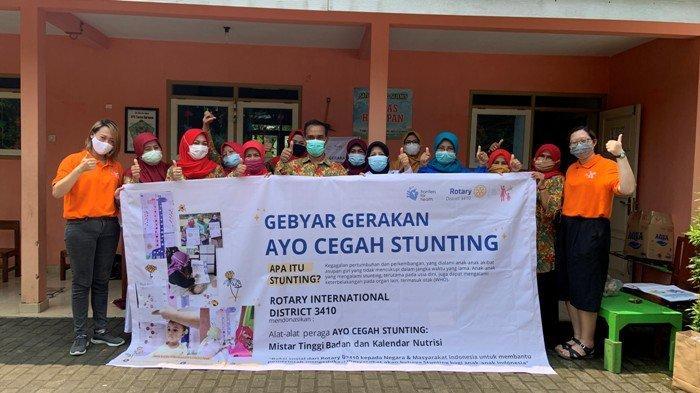 Cegah Stunting, Rotary Club Jogja Merapi Beri Perhatian Khusus ke Desa Sumbersari