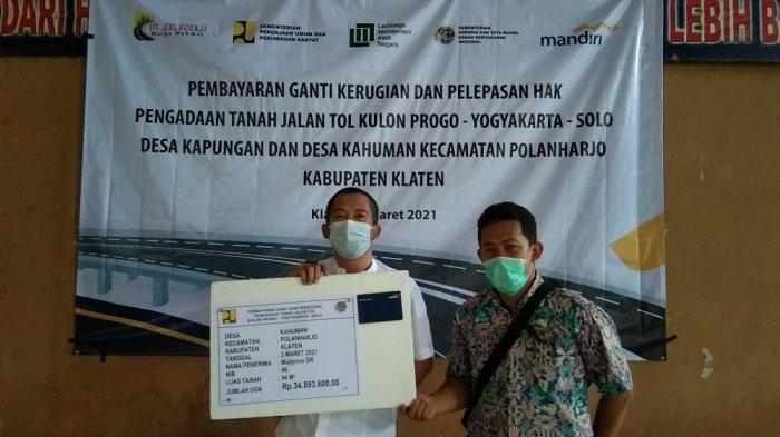 Rp308 Miliar Uang Ganti Rugi Tol Yogyakarta-Solo Guyur Enam Desa di Klaten