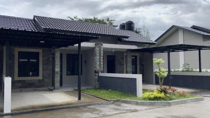 Rumah bergaya minimalis penuh estetika untuk para prajurit Yonif 403/WP yang dirancang langsung oleh Kasad Jenderal TNI Andika Perkasa