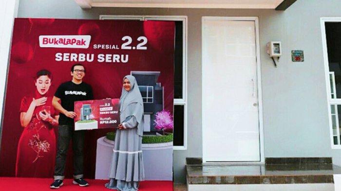 Cerita Ngesti Fitriyasari Ibu Hamil Asal Surabaya Dapat Rumah Rp1 Miliar dengan Harga Rp12 Ribu