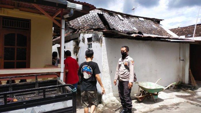 Satu Rumah di Umbulharjo Terbakar, Diduga Akibat Percikan Api Rokok di Atas Kasur