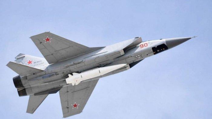 Rusia Kirim Jet Tempur MiG-31 Cegat Pesawat Pengintai AS di Laut Chukchi