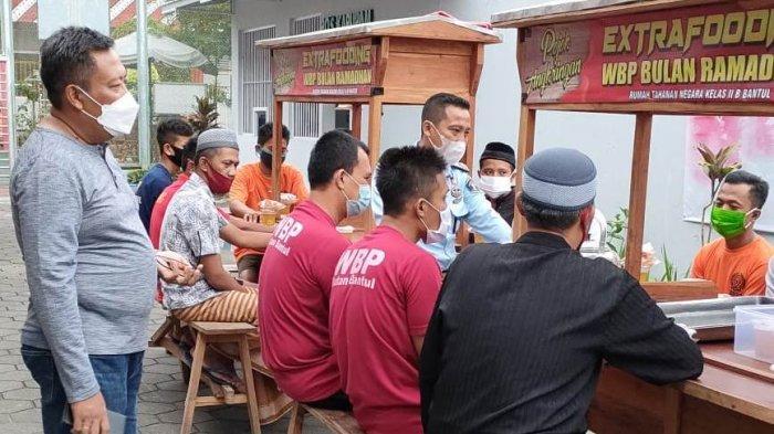 Rutan Kelas II B Bantul Luncurkan Pojok Angkringan Extrafooding Selama Ramadan