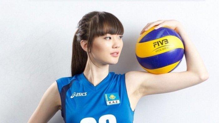 Pemain Voli Asal Kazakhstan Ini Dinobatkan Sebagai Pevoli Tercantik 2018