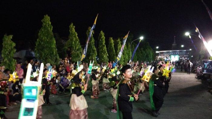 Warga Mergangsan Antusias Saksikan Festival Takbir Keliling