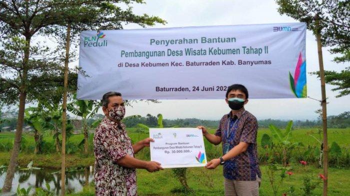 Salurkan Bantuan TJSL, PLN Dorong Pengembangan Desa Wisata Kebumen