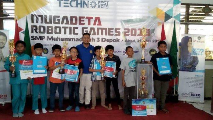 Sambut Milad ke-38, SMP Mugadeta Gelar Lomba Robotik Tingkat SD