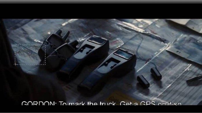 Tulisan Sandy Hook muncul di Peta Gotham City dalam Film Batman The Dark Knight Rises