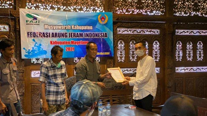 Saryan Adiyanto Terpilih Sebagai Ketua FAJI Kabupaten Magelang